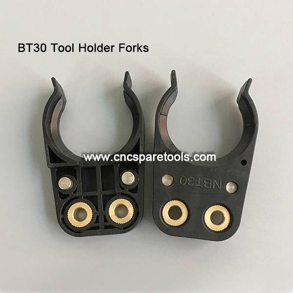 Black BT30 Tool Holder Forks BT Tool Clips for CNC Router Machines