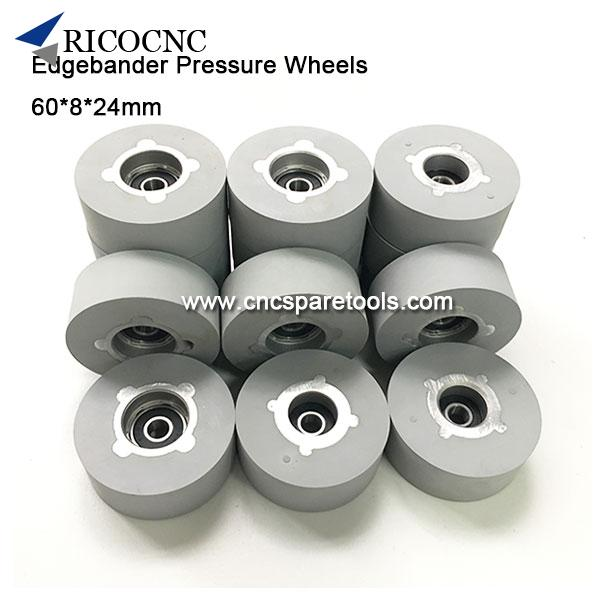 60x8x24mm Pressure Roller Wheels for Biesse Edgebanders