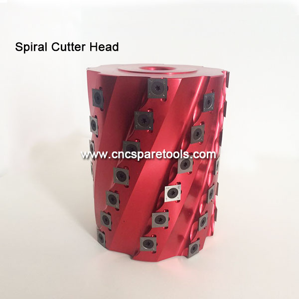 Light Duty Indexable Spiral Cutter Head for Wood Jointer Planer Moulder Shapers