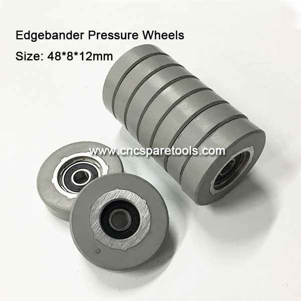 48x8x12mm Pressure Roller Wheels for Edge Banding Machine