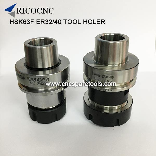 HSK63F ER Tool Holder HSK 63 Collect Chucks for Woodworking CNC Router