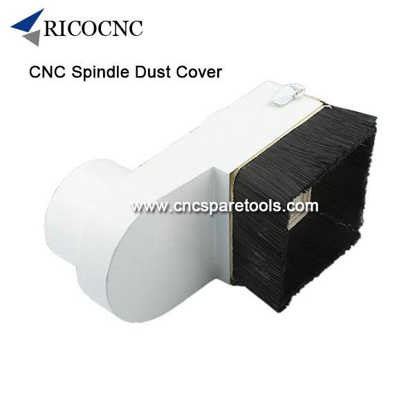 CNC Router Dust Shoes Spindle Dust Cover Woodworking CNC Machine Dust Brush Dust Collection Tools