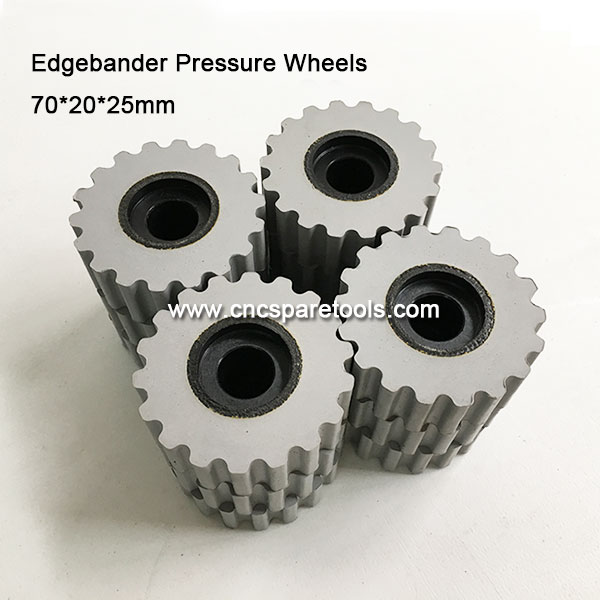 Edgebander Pressure Rollers Gear Wheels for BIESSE IMA HOMAG SCM Brandt Edgebanding Machines