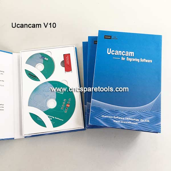 Ucancam V10 Standard Version CNC Router Engraving Software for CNC Router G Code