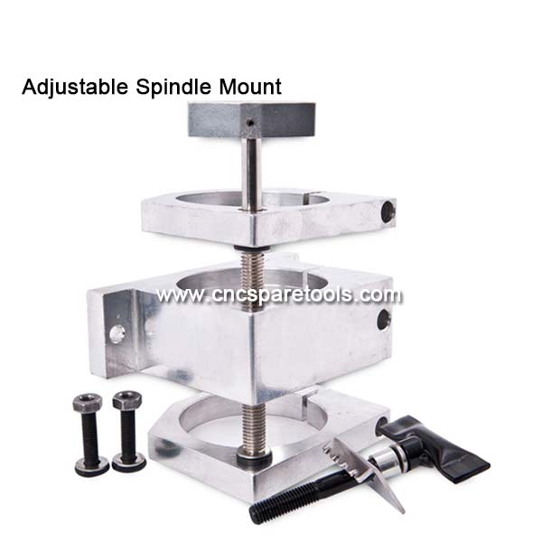 Adjustable Spindle Mount Bracket Spindle Tool Clamp for CNC Router Spindle Motor