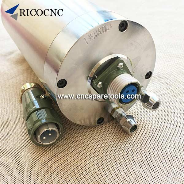 Water Cooled Spindle Motor Water Cooling Spindle Motor Liquid Cooled for CNC Router Machine