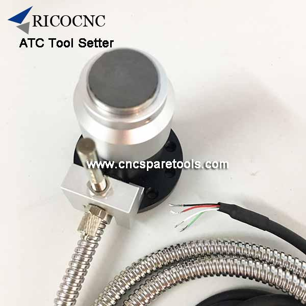 CNC Router Tool Setting Probing Sensor Auto Tool Length Offsets
