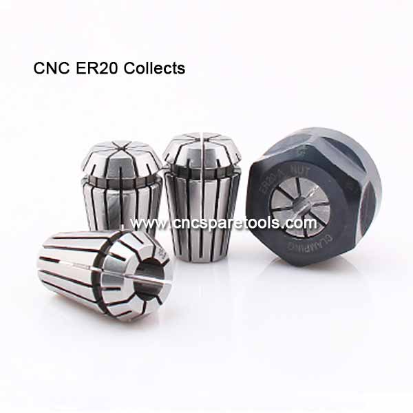 High Precision ER32 Collets ER25 Chucks for CNC Router Spindles