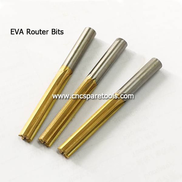 EVA Foam Milling Tools EVA Router Bits for Ethylene-vinyl Acetate Foam Cutting