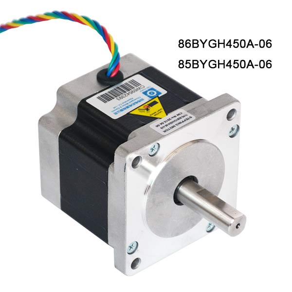 86BYGH450A-06 Stepper Motor 85BYGH450A-06 Two Phase Hybrid Stepping Motors for CNC Router