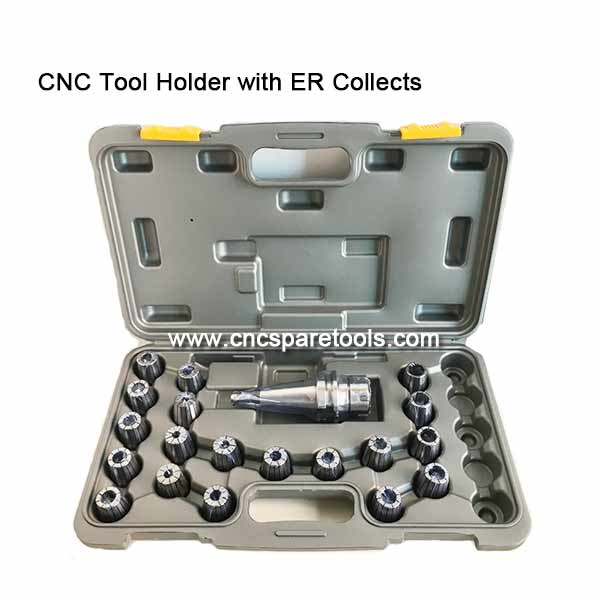 CNC Milling Tool Holder Collets Chucks Set with Metric ER Collet Sets
