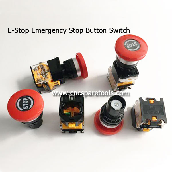 E-Stop Emergency Stop Button Switch for CNC Router Lathe Machines