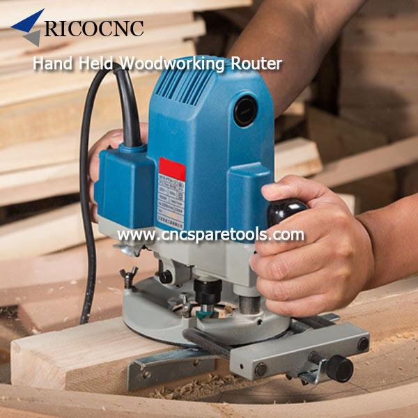 Small Portable Electric Hand Held Woodworking Router Wood Routing Tools