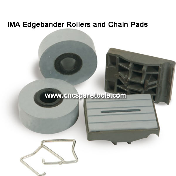 80x60mm IMA Conveyance Track Pads Edgebander Chain Pads for IMA Brandt