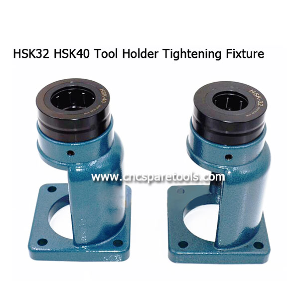 HSK32 Toolholder Lock Seat HSK40 Tool Holder Tightening Fixture Stand for CNC Router