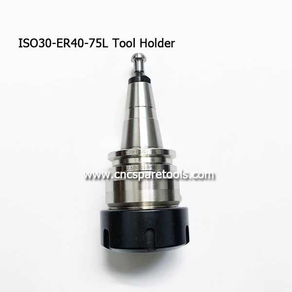 Precision ISO30 ER40 Tool Holder SK30 ISO30 Collet Chucks with HSD Pull Stud