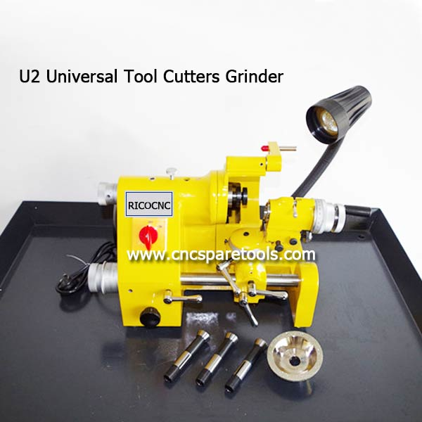 U2 Universal Tool Cutter Grinder CNC Router Tool Sharper for CNC Milling Bits