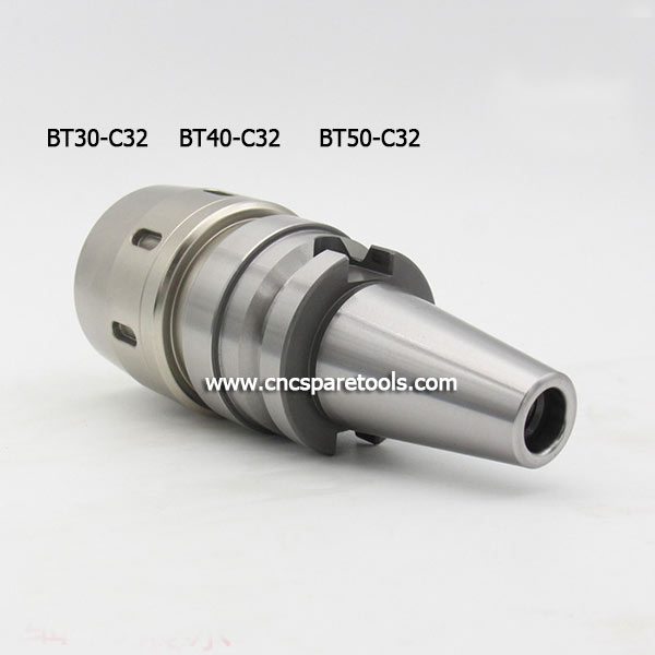 BT40-SC32-105L CNC Tool Holder Powerful Straight Collet Milling Chucks