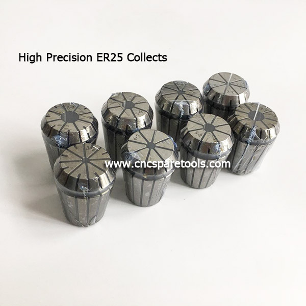 High Precision ER25 Spring Collets Chucks CNC ER Collects for CNC Router Spindles