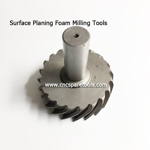 Big Surface Planing EPS Foam Router Bits Flat Bottom Foam Cutting Tools