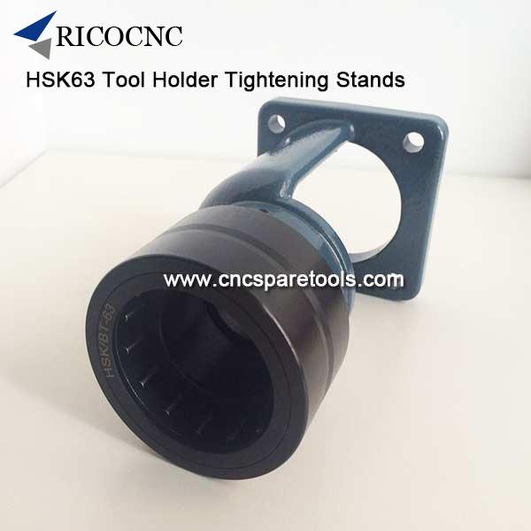 HSK63 Tool Holder Locking Device BT40 Toolholder Clamping Stands ISO40 Tool Tightening