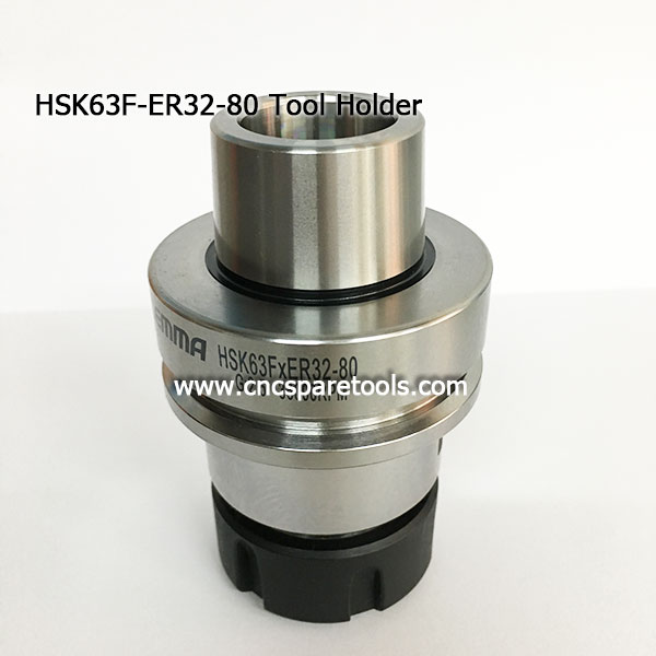 LEMMA Brandt Tool Holder HSK63F-ER32-80 Cones HSK Collect Chucks for CNC Router