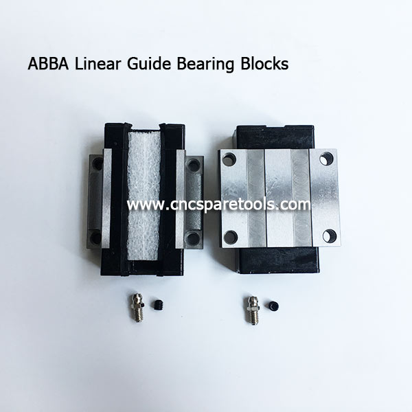 Original ABBA Linear Guide Bearings Slider Blocks for CNC Machines