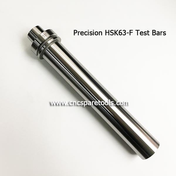 HSK63-F Tool Holder Test Bars Calibration Arbor Rod for Spindle Runout Testing
