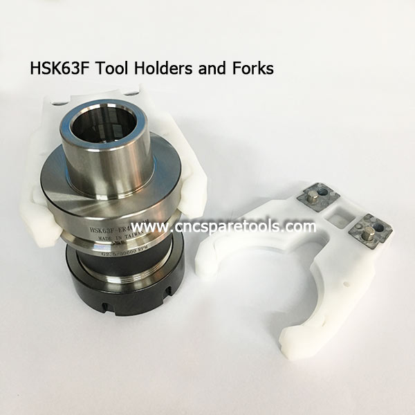 HSK63F Tool Holders HSK Tool Holder Clips for CNC Router Machine