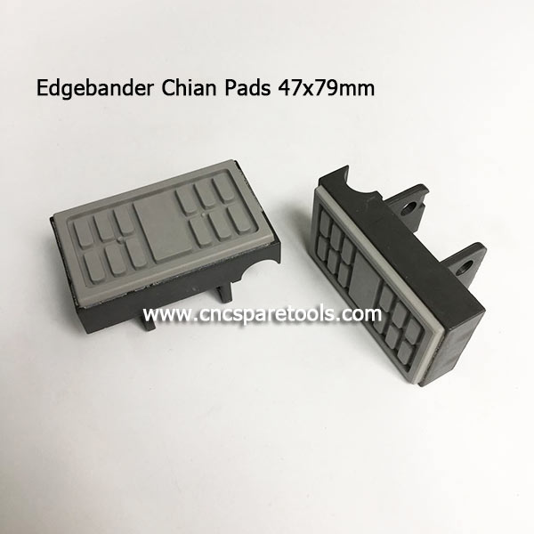 Edgebander Chain Track Pads for Comeva Compacta 4 Edge Banding Machines