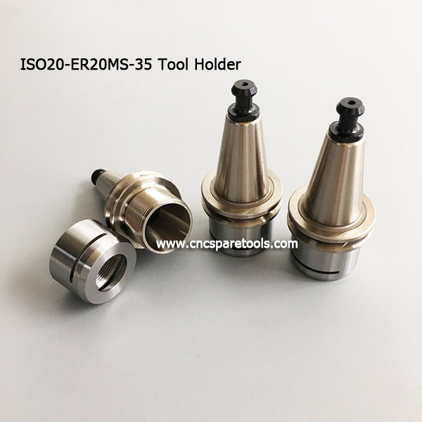 ISO20 Tool Holders ISO 20 ER20 Collect Chucks for CNC Machines