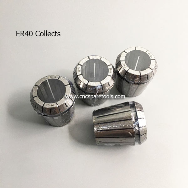 High Precision ER40 Spring Collets CNC ER Collects for CNC Router Spindle