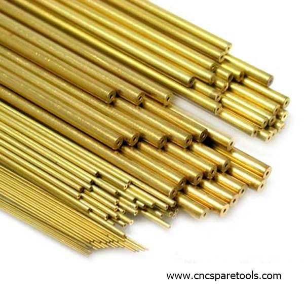 Single Hole Tubing EDM Brass Tube Electrode for Small Hole Drilling EDM