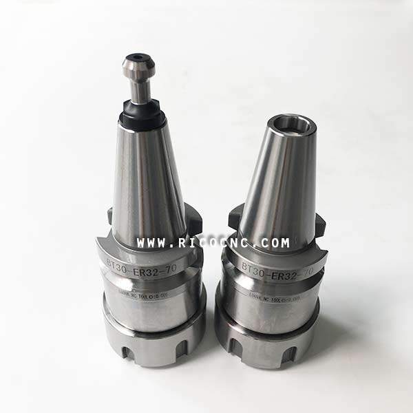 BT30 ER32 ER20 70mm Tool Holder CNC Milling Collet Chuck  with Keyway