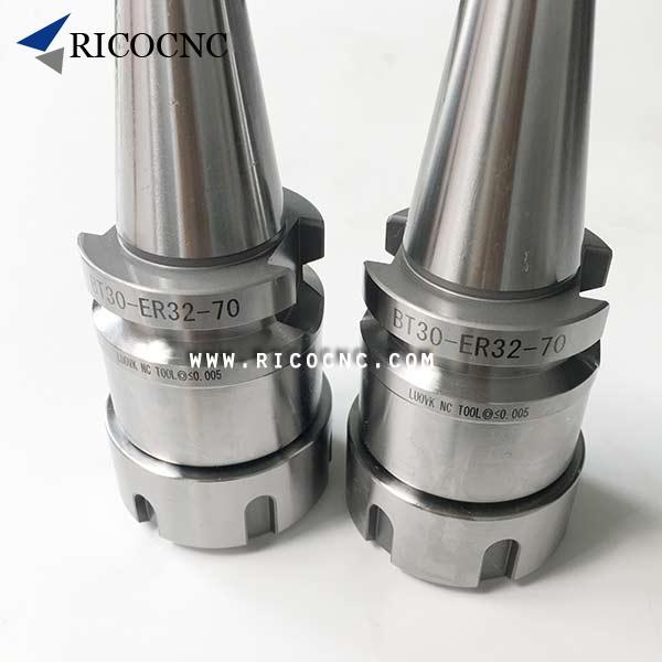 8pcs BT30 ER20 70L Collet Chuck Tool Holder ER20 Toolholder For CNC Milling