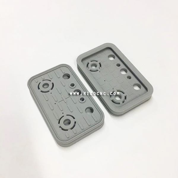 125x75x17mm CNC Vacuum Pad Cover Vacuum Cups and Pods Rubber Replacement Plates Top vacuum plate