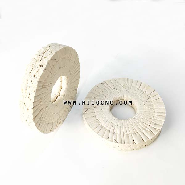 Edgebander Machine Replacement Parts Buffing Polishing Cloth Wheel