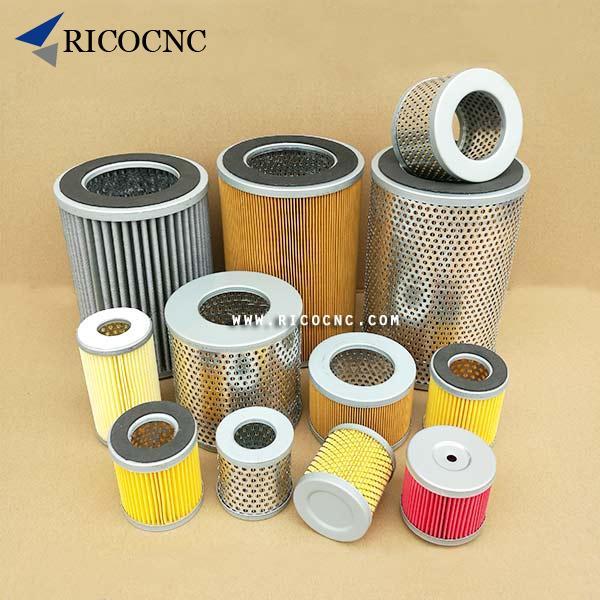 Becker Vacuum Pump Air Filter Cartridge Inlet Core Paper Filter