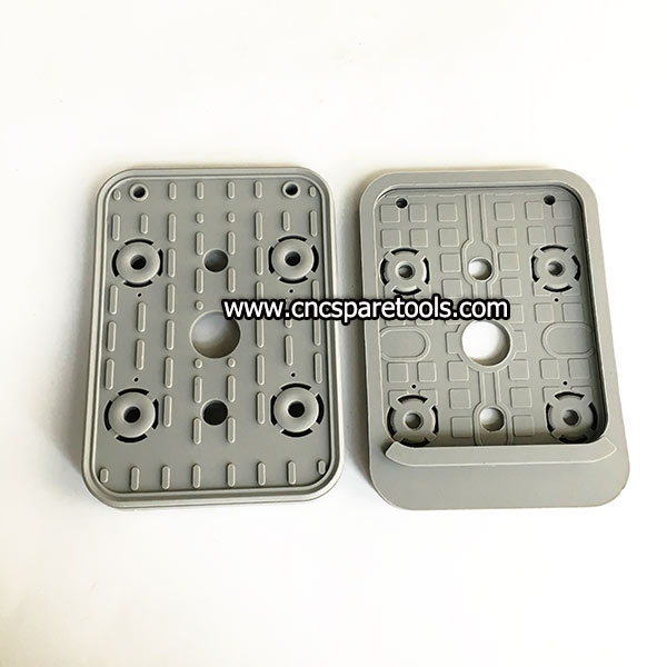 160x115x17mm Rubber CNC Vacuum Gasket with A Step for VCBL-K2 CNC Suction Cups