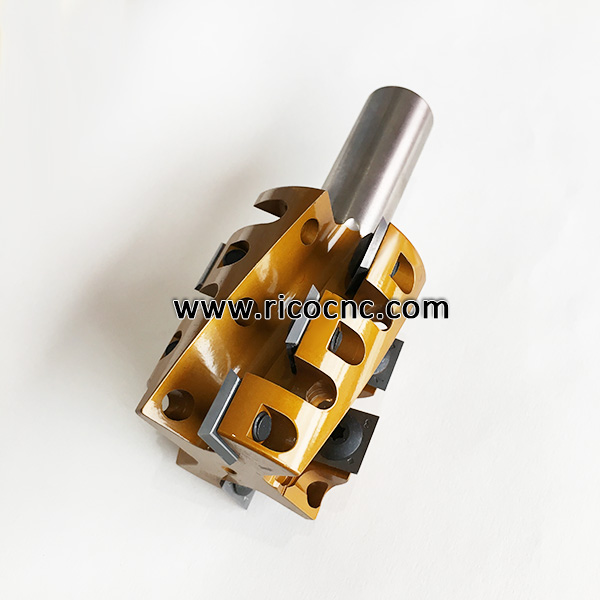 Indexable CNC Router Spiral Cutterhead Bits for Hard Wood Milling