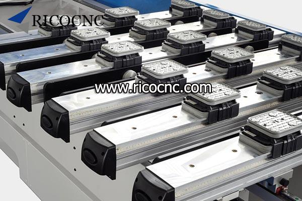 CNC pod and rail machining center