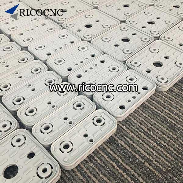 CNC top rubber seal