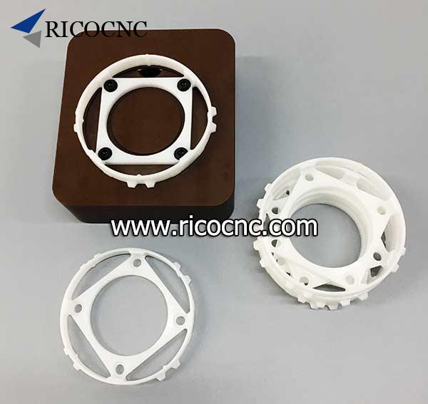 white plastic bottom ring for Biesse vacuum block